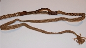 NEW Brazilian Jr rope, left hand, w/ full skip lace handle