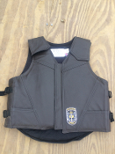 Ride Right Leather Vest, sz Small