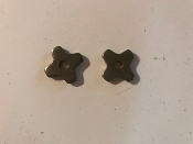 "3/4"" 4 Point Steel Bare Back Rowels FREE SHIPPING"