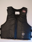 Ride-Right Saddle Bronc Protective Vest - Leather